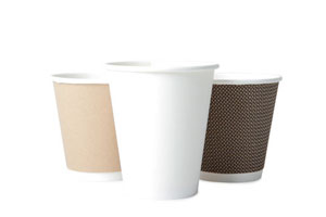 Disposable Paper Cups, Lids & Sleeves